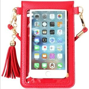 Cell phone and wallet holder